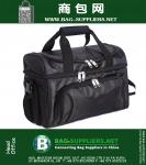 Large Soft Cooler Bag, Two Insulated Compartments, 840D Heavy-Duty Polyester and Removable Shoulder Strap