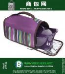 Thermal Carrier, Stripe Purple